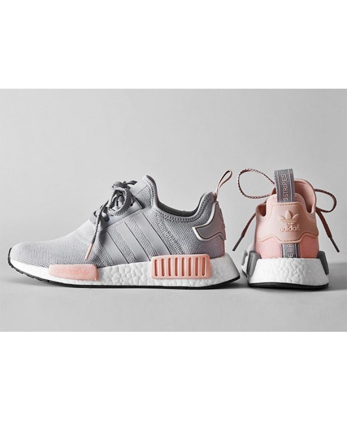 adidas nmd femme grise rose