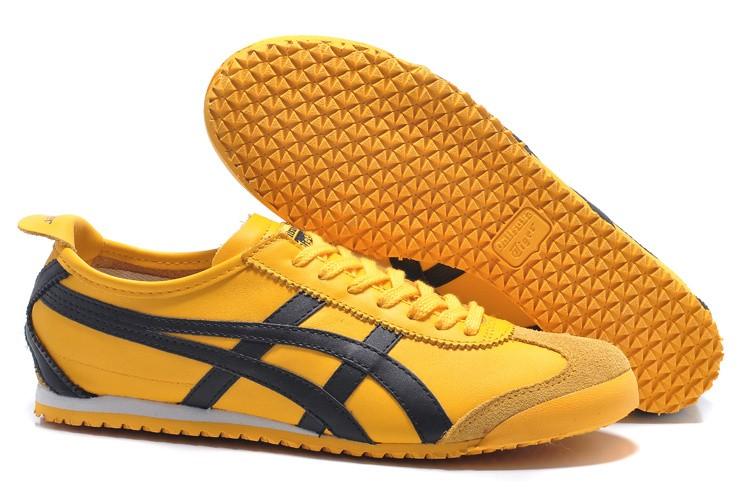 asics tiger jaune cheap online